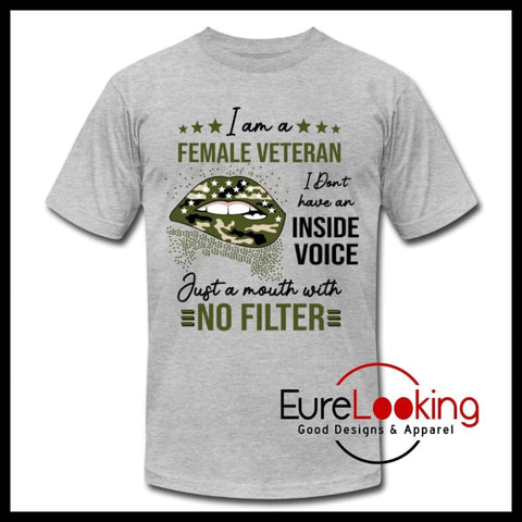 Female Veteran Eure_Looking_Good_Apparel heather gray S