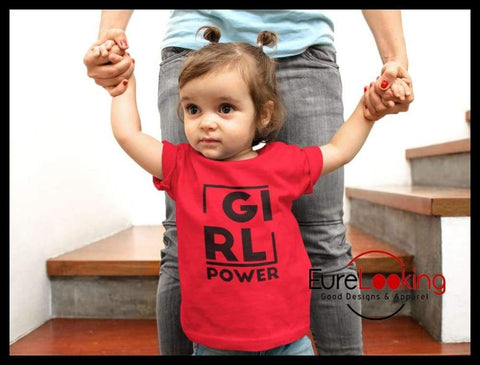 Girl Power Toddler Premium T-Shirt Eure_Looking_Good_Apparel