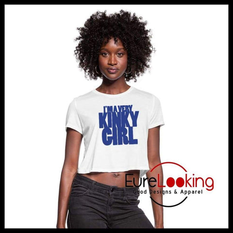 I'm a Very Kinky Girl Eure_Looking_Good_Apparel white S