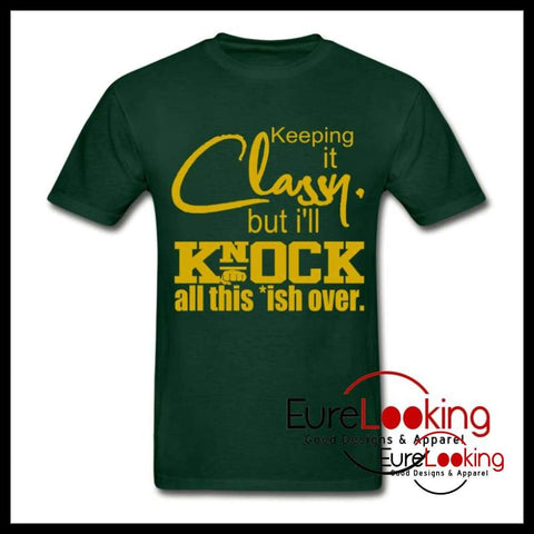 Keeping it Classy but....... Eure_Looking_Good_Apparel forest green S