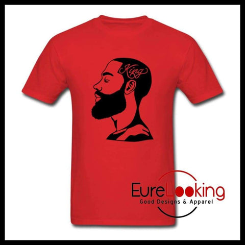 King Men's T-Shirt Eure_Looking_Good_Apparel red S