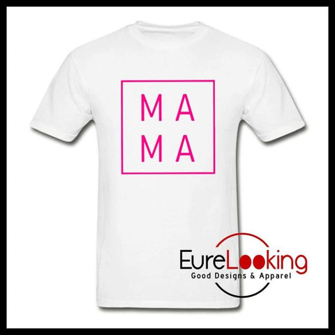 MAMA Shirt Eure_Looking_Good_Apparel white S