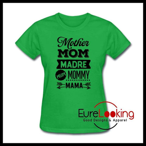 Mother Women's T-Shirt Eure_Looking_Good_Apparel bright green S