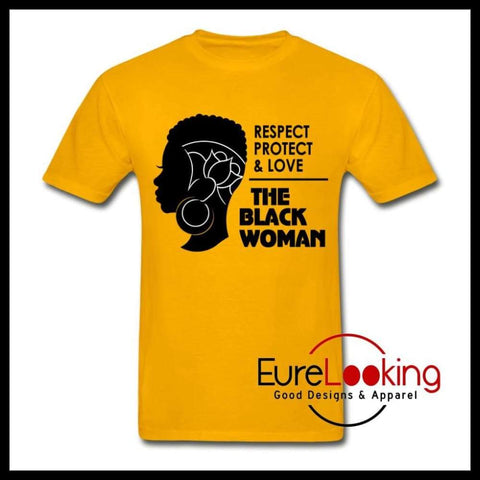 The Black Woman Eure_Looking_Good_Apparel gold S