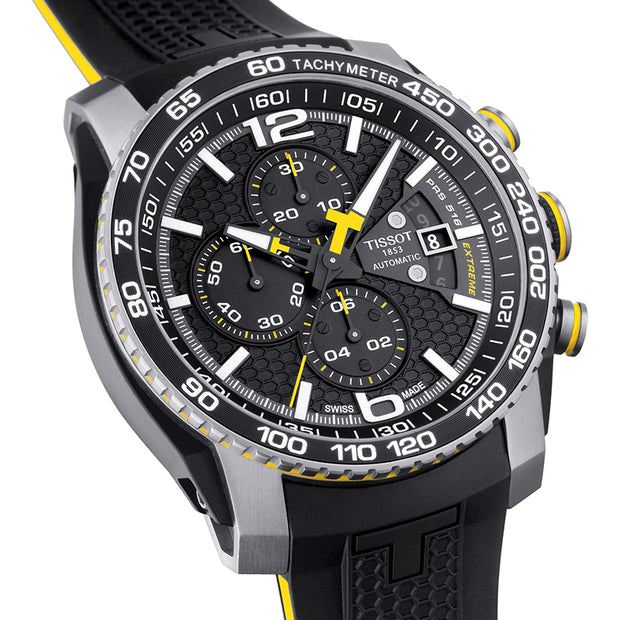 Tissot Men Automatic Chronograph Date Black Watch T079.427.27.057.01