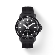 Tissot Seastar 1000 Black Dial Automatic Men's Rubber Watch T120.407.37.051.00