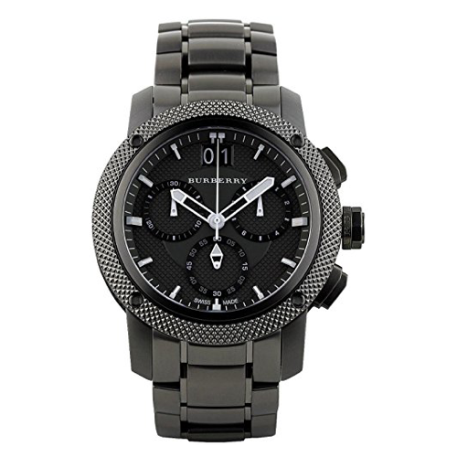 Burberry Men's Chronograph Utilitarian Watch BU9801