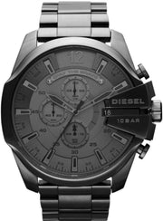 Diesel Men Quartz Chronograph Date Black Stainless Steel Watch (DZ4282)