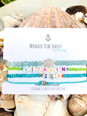 Beaded Beach Bracelet - Vitamin Sea