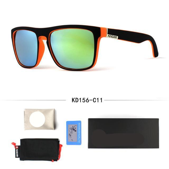 """AXIS"" Retro squared polarized sunglasses"