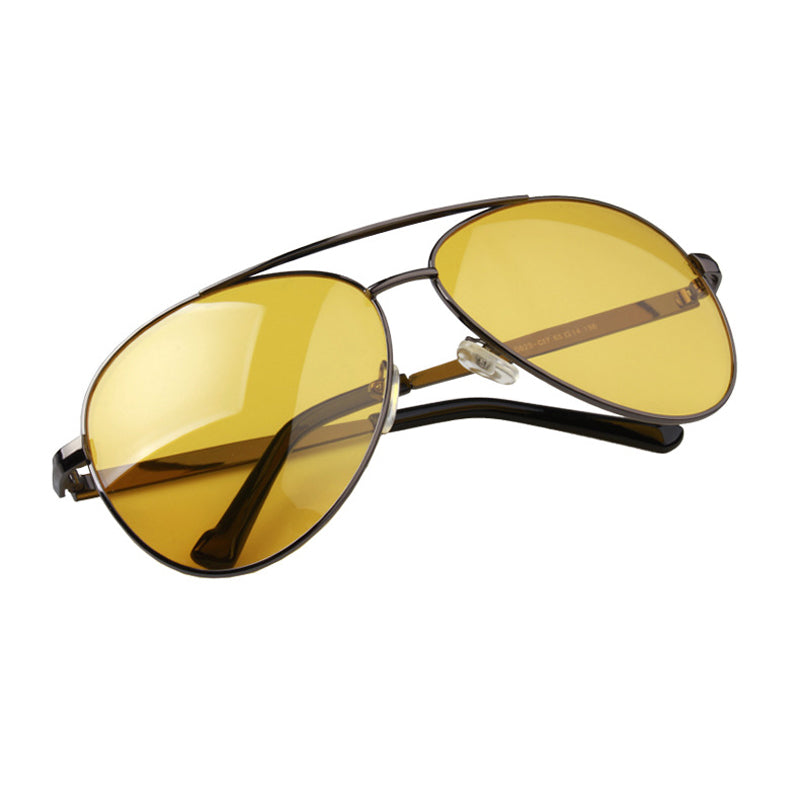 """PILOTO"" Alloy frame aviator sun glasses"