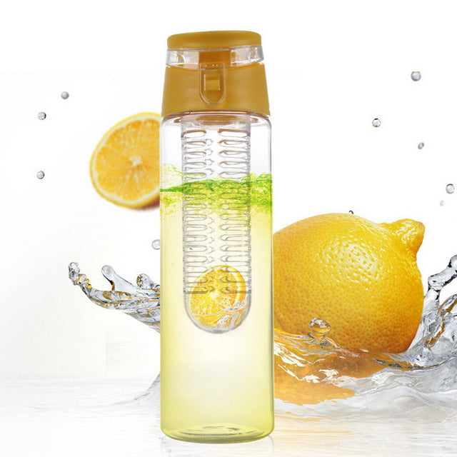 """FUZER"" 800 ML Portable fruit Infusing Water bottle"