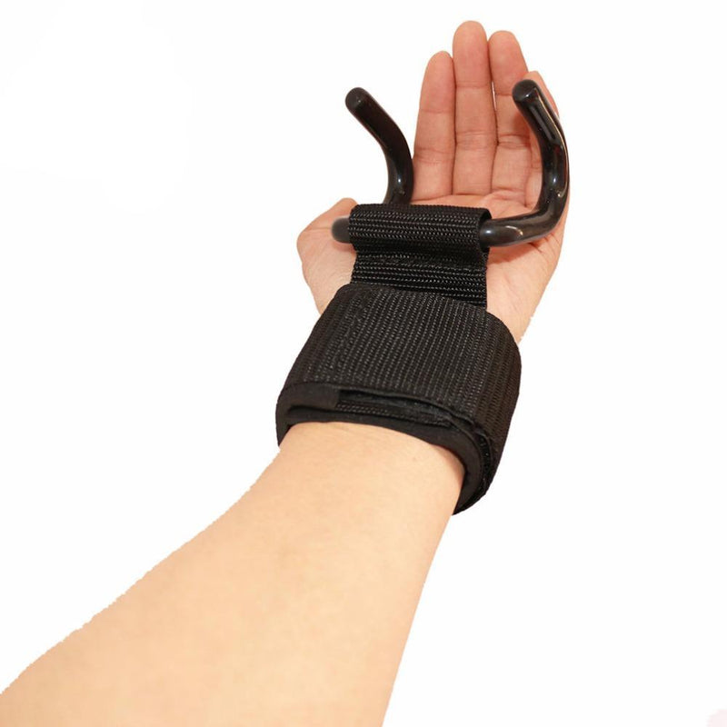 2 finger insert weightlifting palm guard