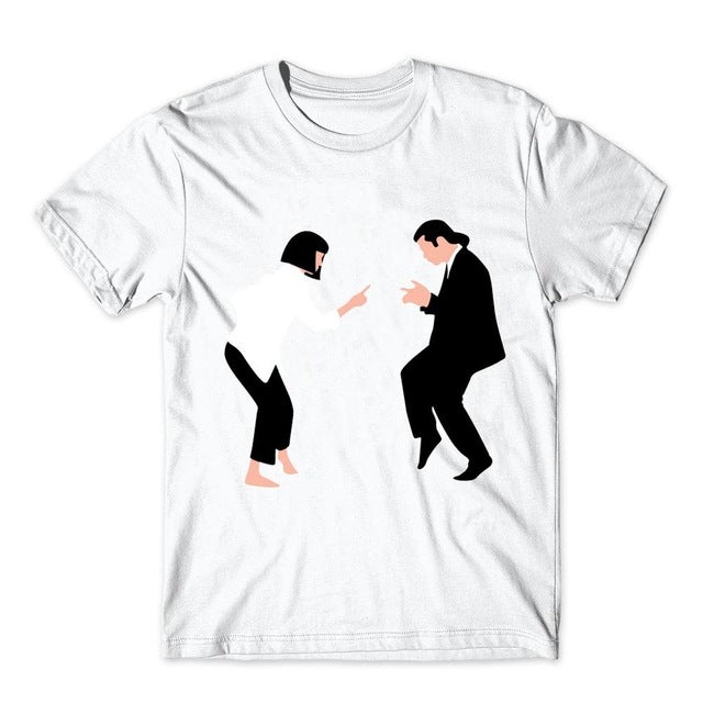 """THE BOOK OF PULP"" Pulp Fiction T shirt"