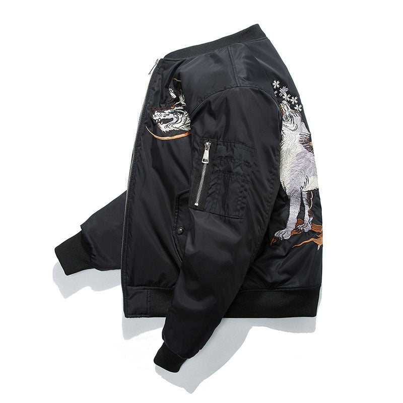 """NORAN"" Slim fit Bomber jacket"