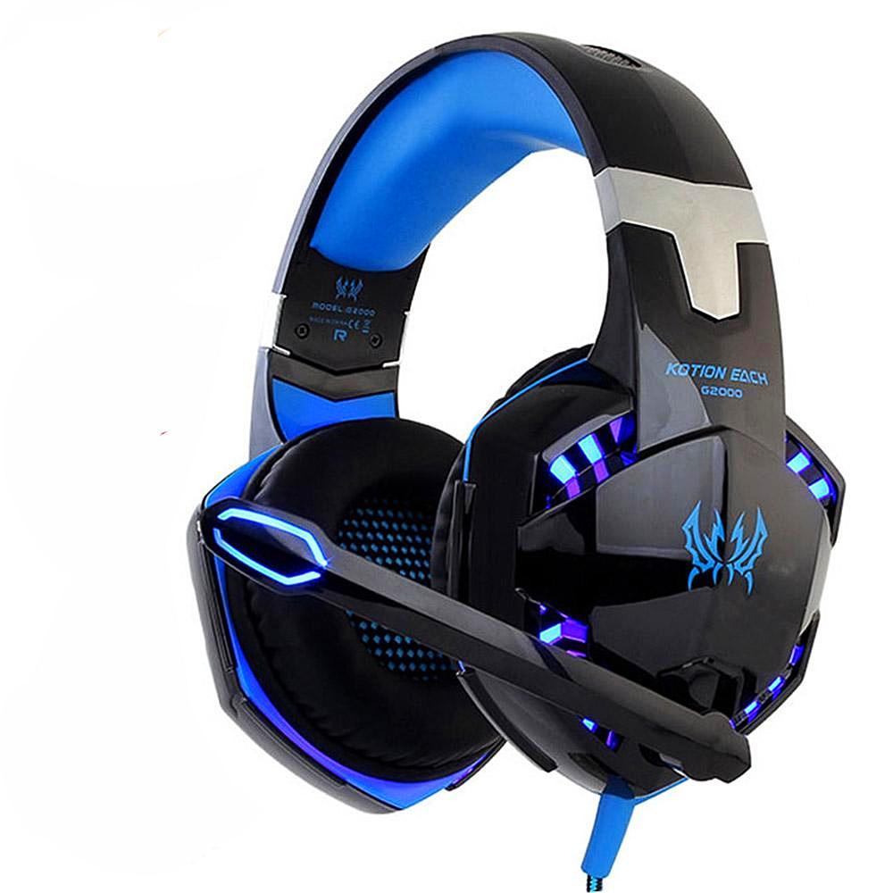"""KOTION EACH"" Earphone Gaming Headphones With Microphone"