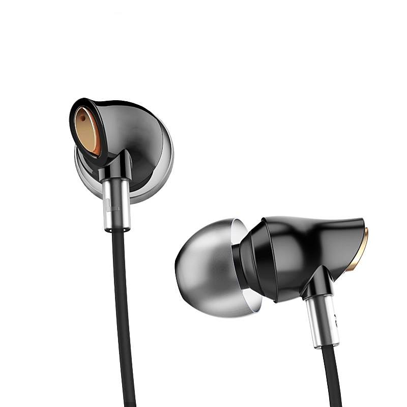 """CODA"" In ear stereo headphones w/3.5mm balanced bass"