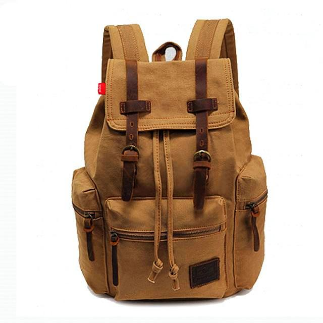 """BAYBRIDGE"" Leather Charge Backpack"