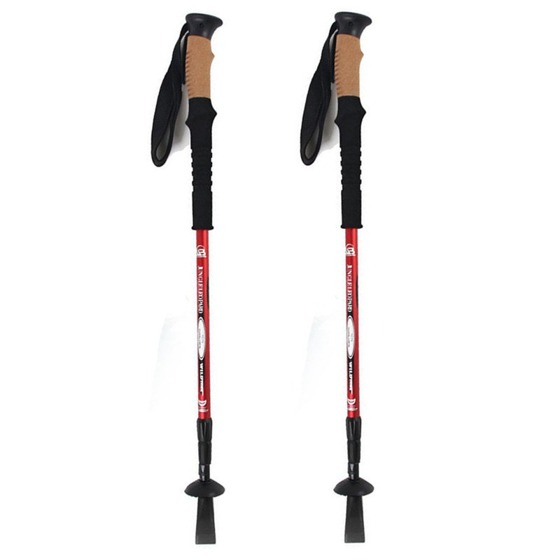 """ALPINE"" Cork handle trekking poles - pair"