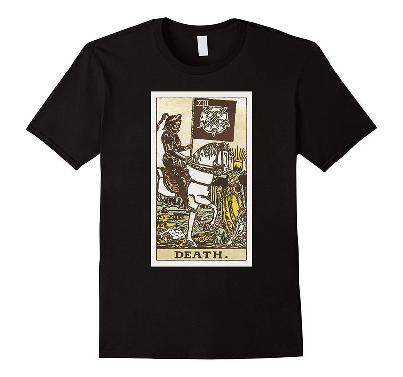 """DEATH"" Tarot card t shirt"