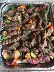 Ranch Steak and Veggies