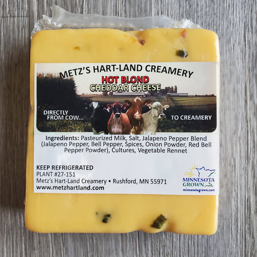 Hot Blond Cheddar