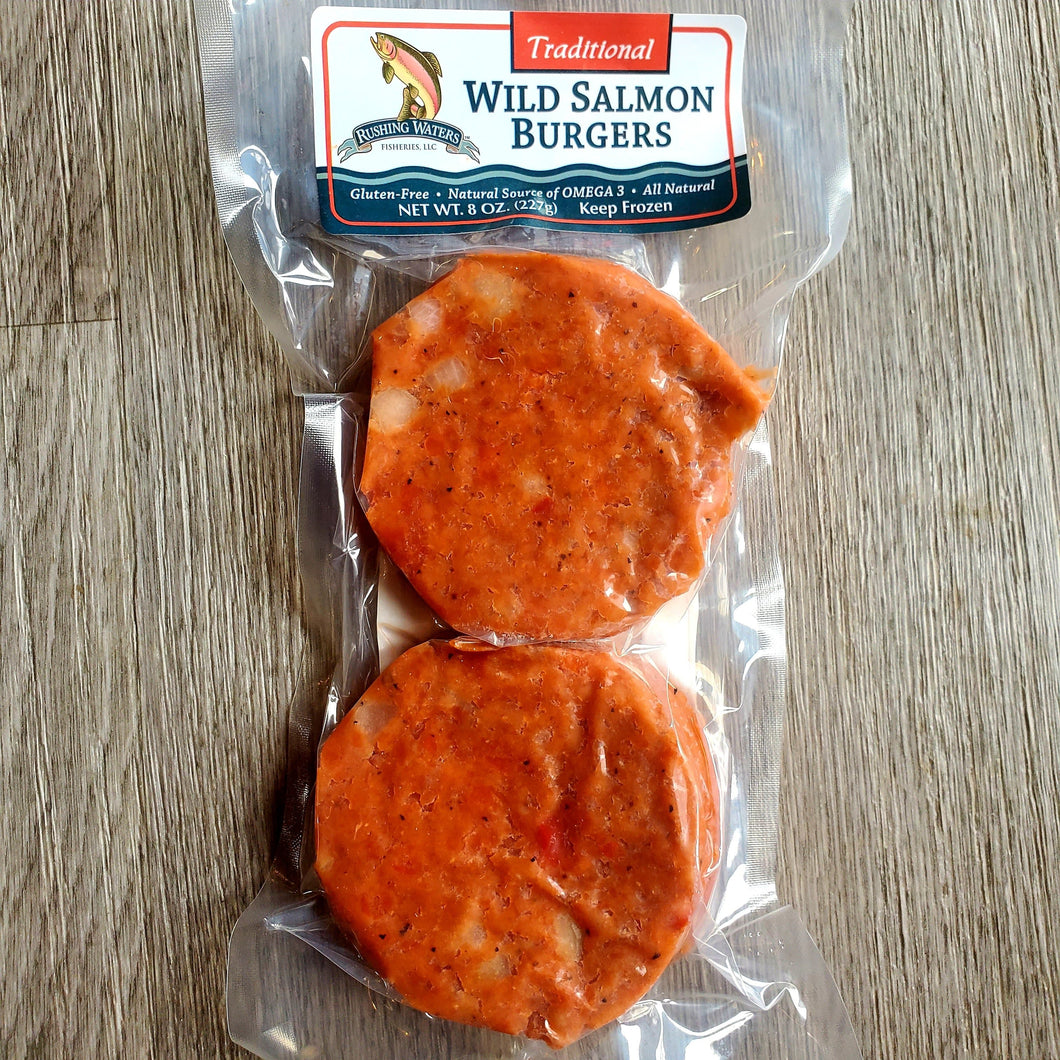 Wild Salmon Burger - Traditional
