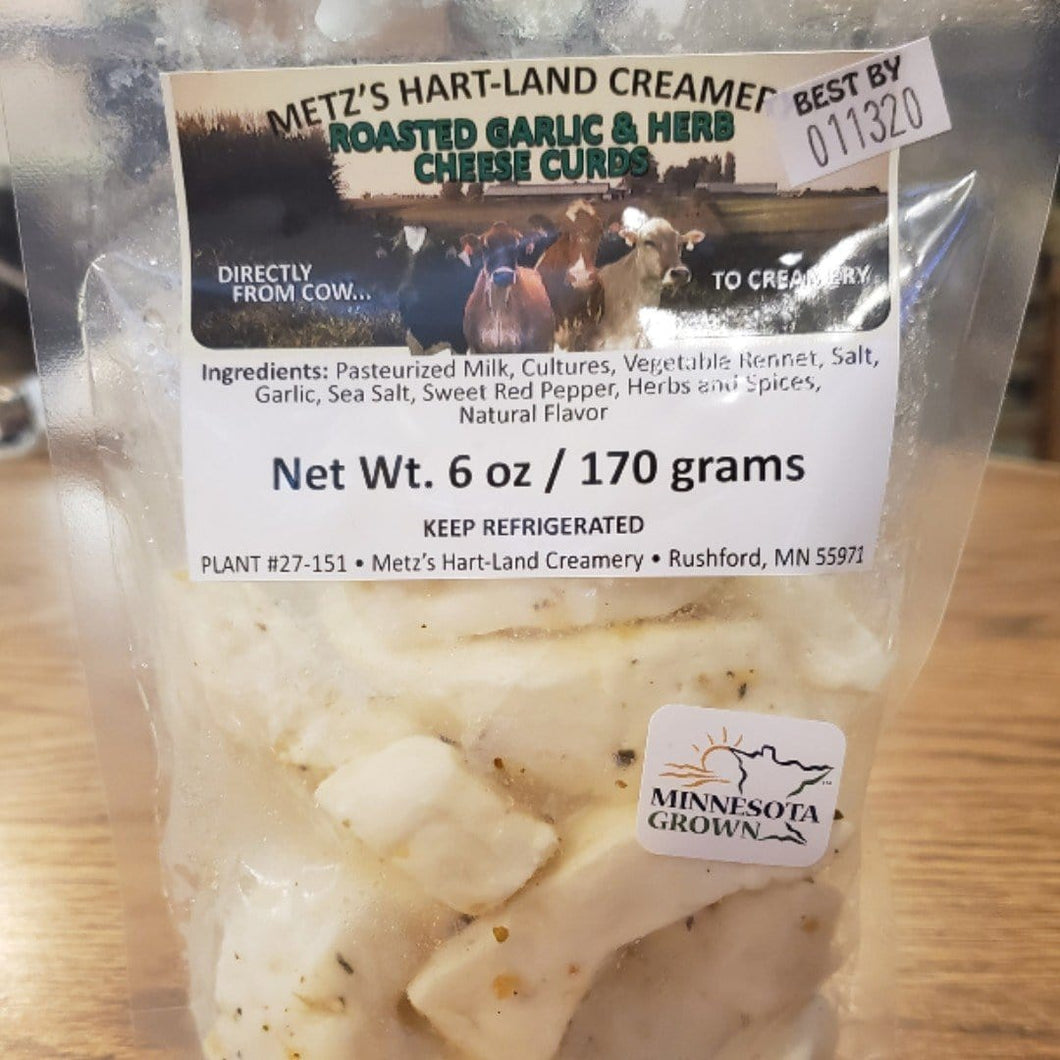 Garlic and Herb Cheese Curds - Grandpa Dons Market