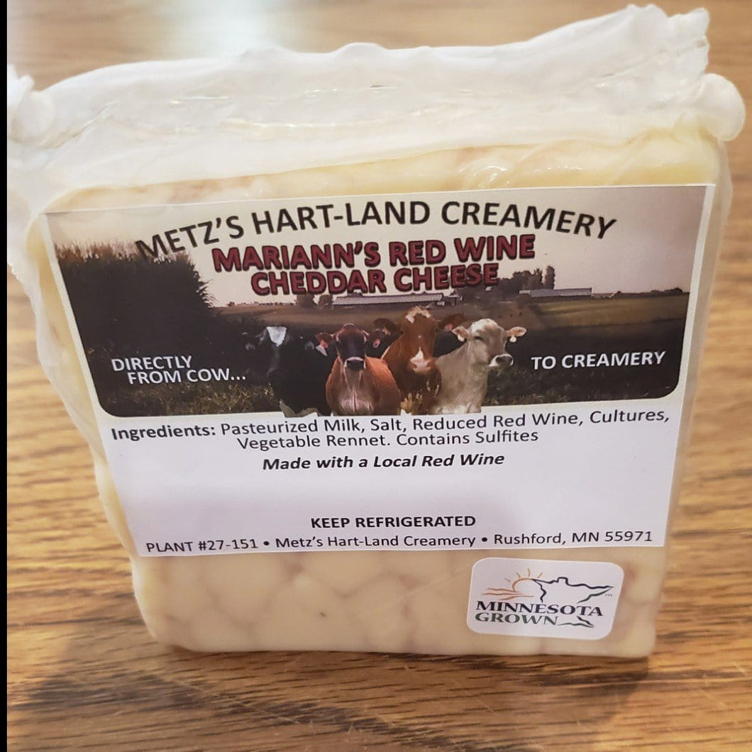 Mariann's Red Wine Cheddar - Grandpa Dons Market