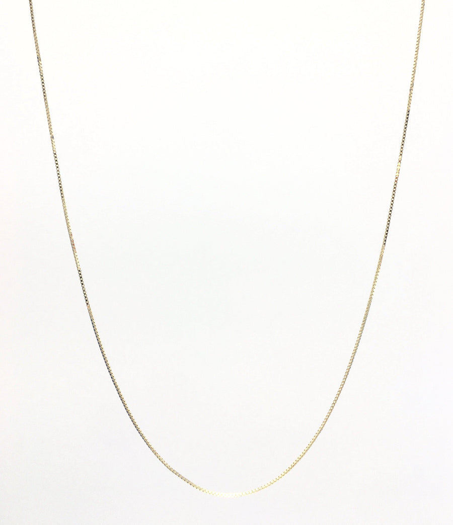 Box Tinsel Chain Women's Necklace 14k Yellow Gold Fashion Beauty Designer Jewelry Store Discount