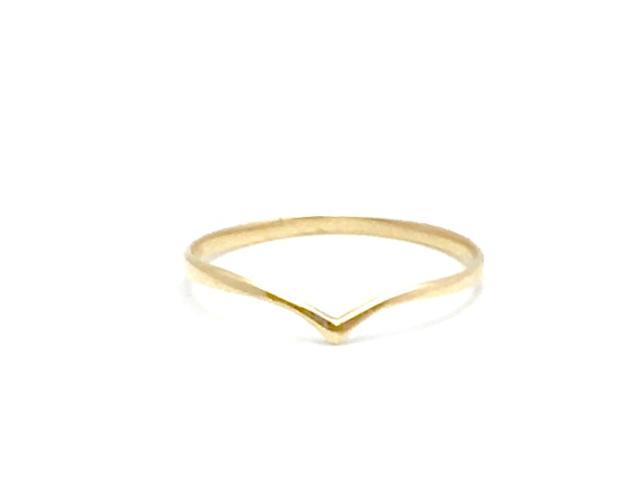 Peak stackable ring 14k Yellow Gold Fashion Beauty Designer Jewelry Store Discount