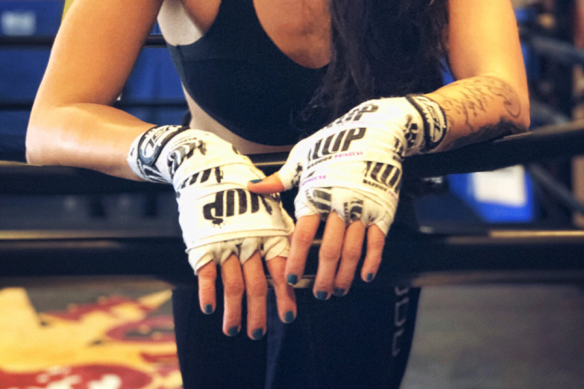 VSL Fighting and Leila Leilani Partner on Limited Edition Hand Wraps to Benefit GirlForward