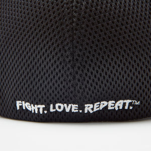 Black Flexfit Logo Hat Back - VSL Fighting