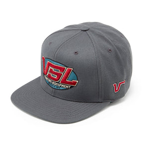Grey Snapback Logo Hat - VSL Fighting