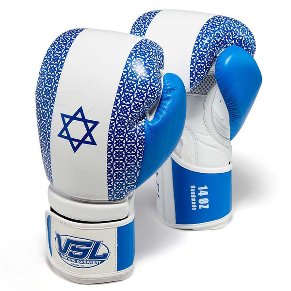 Limited Edition ISRAEL Valle 4000 LEATHER Pro Boxing Gloves