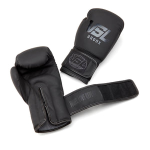 VSL Fighting Equipment Matte Black Gloves Limited Edition