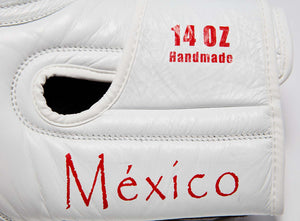 SHOWROOM SAMPLE MEXICO Pride Valle 4000 LEATHER Pro Boxing Gloves