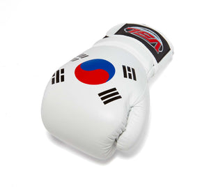 SOUTH KOREA Pride Valle 4000 LEATHER Pro Boxing Gloves