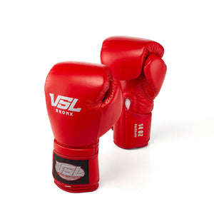 Valle 4000 Pro Boxing Gloves - Red | VSL Fighting