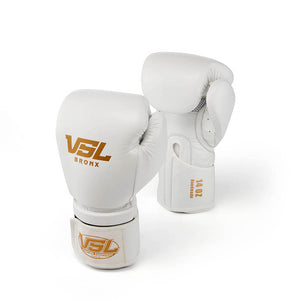 Valle 4000 Pro Boxing Gloves - White | VSL Fighting