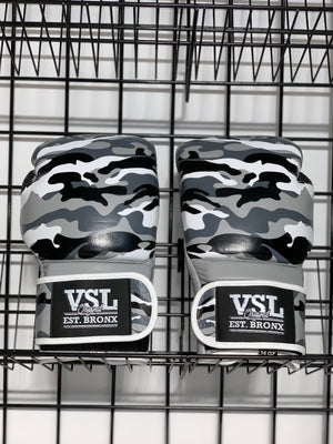 VSL Leather Camo 14oz Gloves