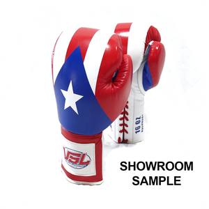 SHOWROOM PUERTO RICO Pride Valle 4000 LEATHER Pro Lace-up Boxing Gloves
