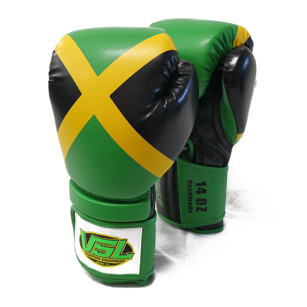SHOWROOM SAMPLE JAMAICA Pride Valle 3000 Boxing Gloves