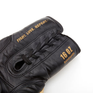 SHOWROOM SAMPLE Valle 4000 LEATHER Pro Lace-Up Boxing Gloves