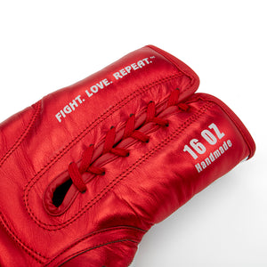 Valle 4000 LEATHER Pro Lace-Up Boxing Gloves