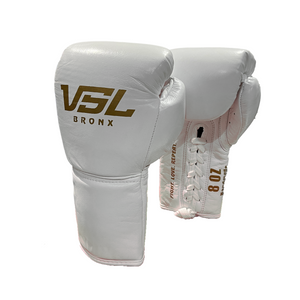 SHOWROOM Valle 4000 LEATHER Pro Lace-up Boxing Gloves