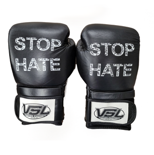 STOP HATE Valle 4000 LEATHER Pro Boxing Gloves