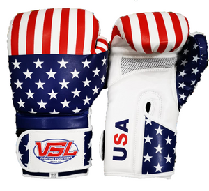 SHOWROOM SAMPLE USA Valle 4000 LEATHER Pro Boxing Gloves