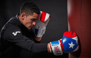 SHOWROOM SAMPLE PUERTO RICO Pride Valle 2000 Boxing Gloves