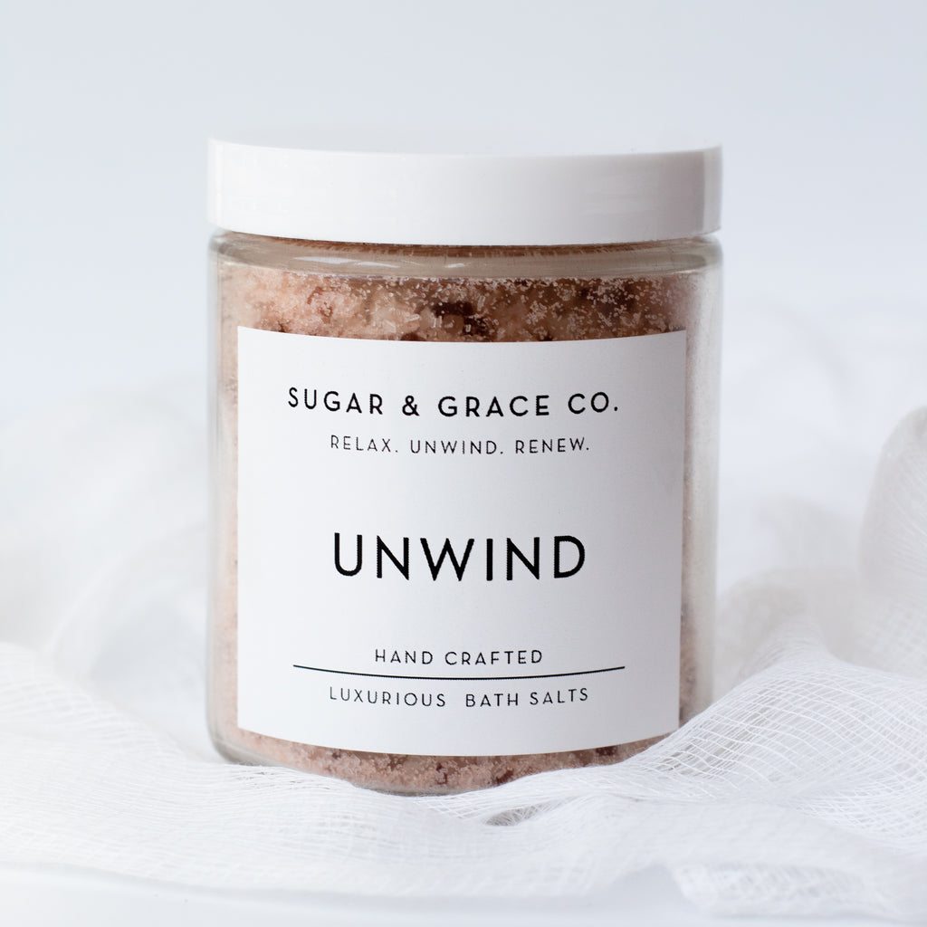 Unwind Luxurious Bath Salts